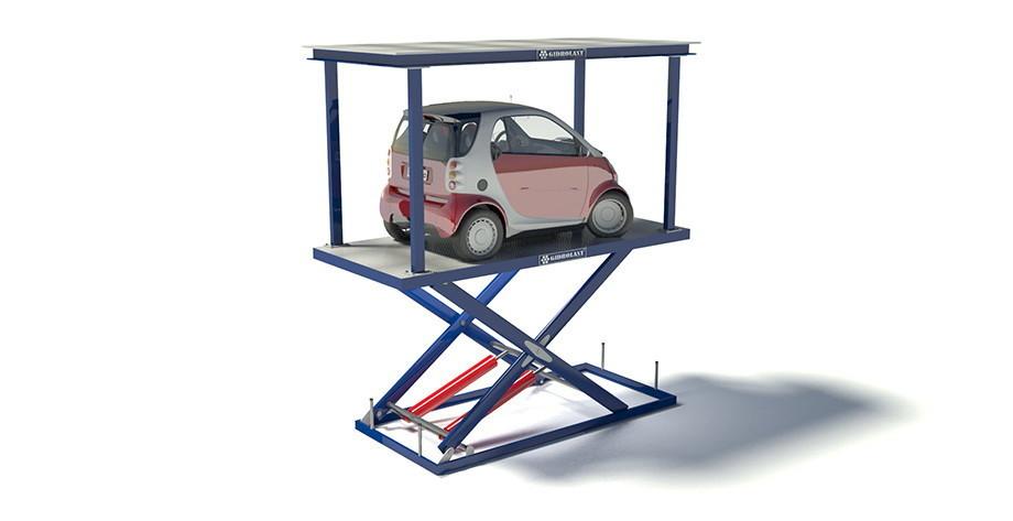 Компактная парковка для малолитражного транспорта