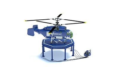 Подъемная вертолетная площадка
